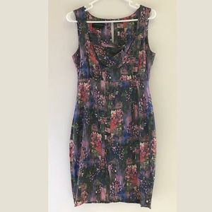 Anthropologie Corey Lynn Calter Silk Dress
